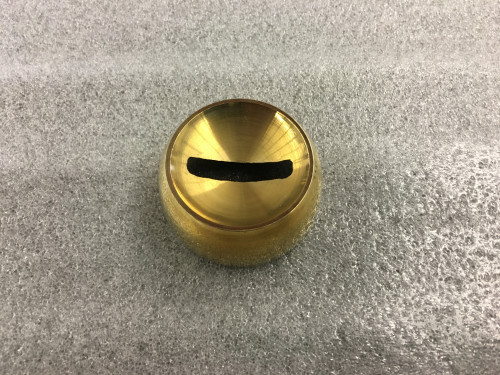 Polished Brass Angle Collar (1-1/2in)