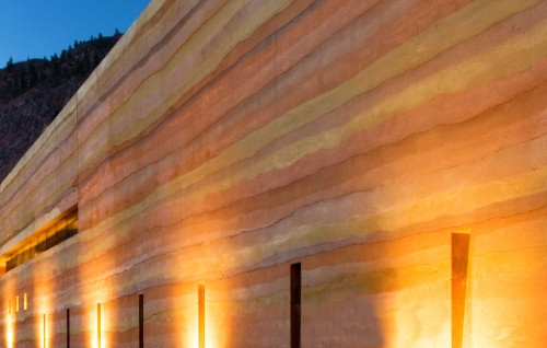 Big Sky Architect's Journal - Rammed Earth: Deep Green by Design