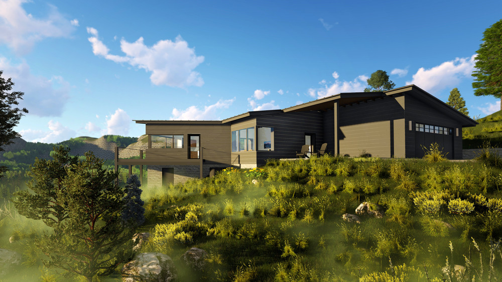 Sandpoint Architect's Journal - 'Mountain Modern'