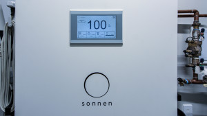 This mechanical room also hosts the 'smart' battery solar energy storage and monitoring system.