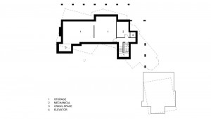 CONCEPTUAL BASEMENT PLAN :: 1700 Square Feet