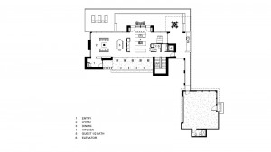 CONCEPTUAL MAIN LEVEL PLAN :: Residence 1683 Square Feet, Garage 897 Square Feet