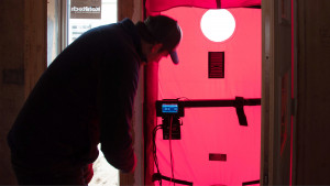 Progress pressurization test for airtightness performance