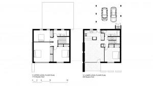 'C' Units: 2200 Square Foot, 4 Bedroom 2 Bath Floor Plan