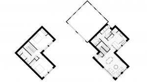 PHASE ONE CONCEPTUAL FLOOR PLAN V2 - 1860 S.F. PLUS GARAGE