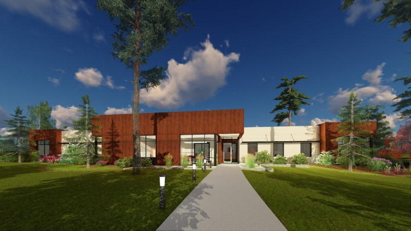 Spokane Architect's Vision - Sunshine Health Administration Offices