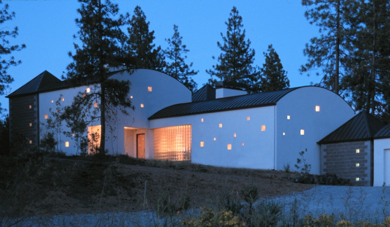 Coeur d'Alene Architect's Vision - Residence for Two Gourmets