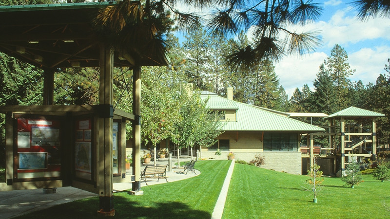 Spokane Architect's Vision - Fernan Ranger Station