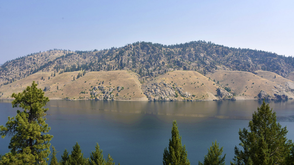 Big Sky Architect's Vision - Lake Roosevelt Overlook