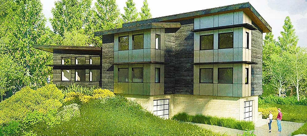 Coeur d'Alene Architect's Vision - Issaquah Wetlands Retreat