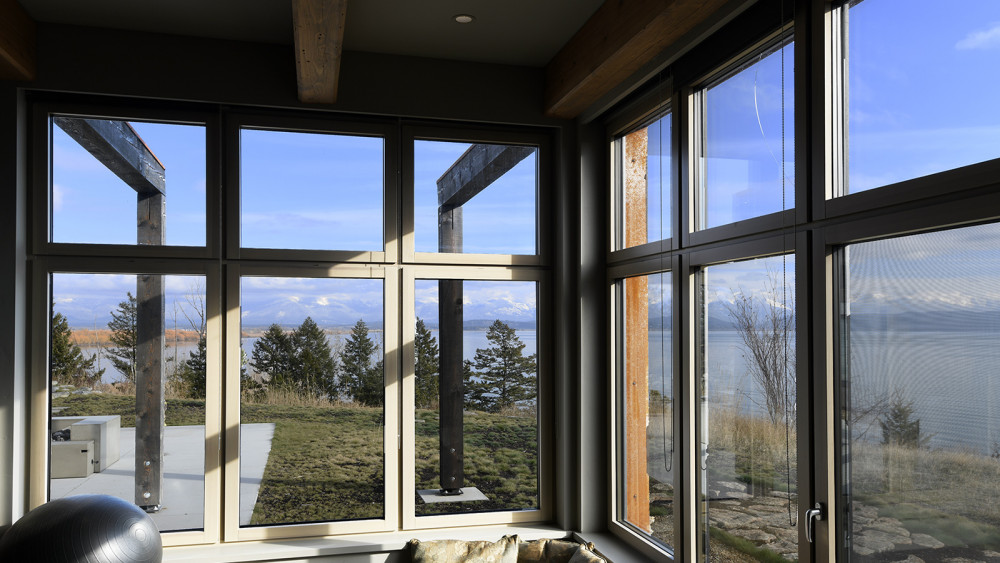 Spokane Architect's Vision - Flathead Lake Passivhaus