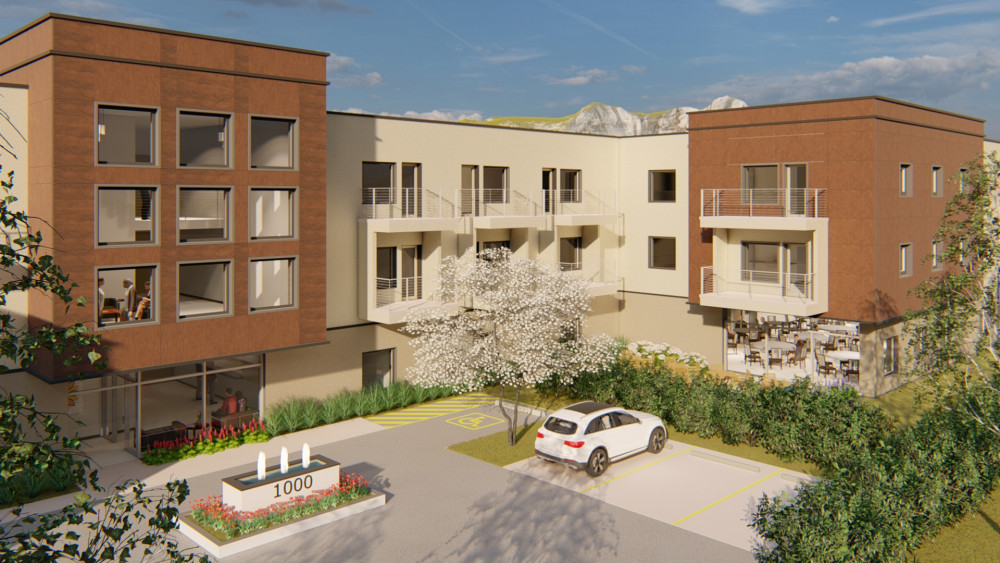 Big Sky Architect's Vision - Sunshine Health Facilities Assisted Living