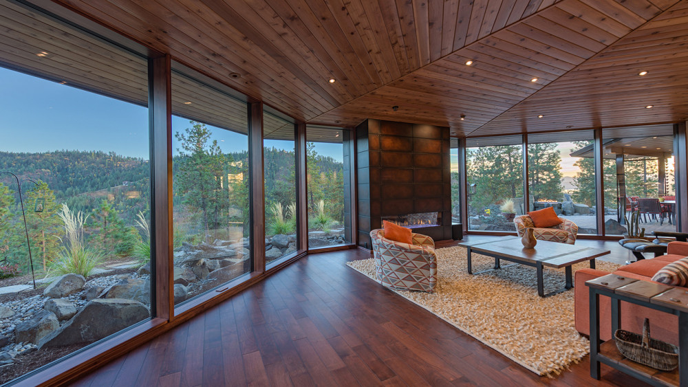 Spokane Architect's Vision - Rammed Earth Passivhaus