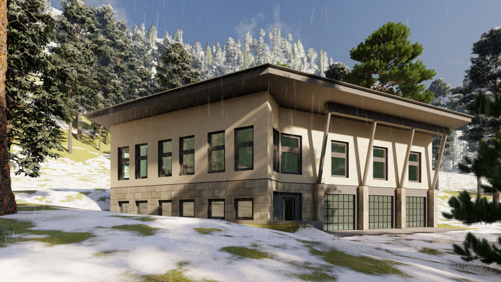 Spokane Architect's Vision - Utah Passivehaus Ski Retreat