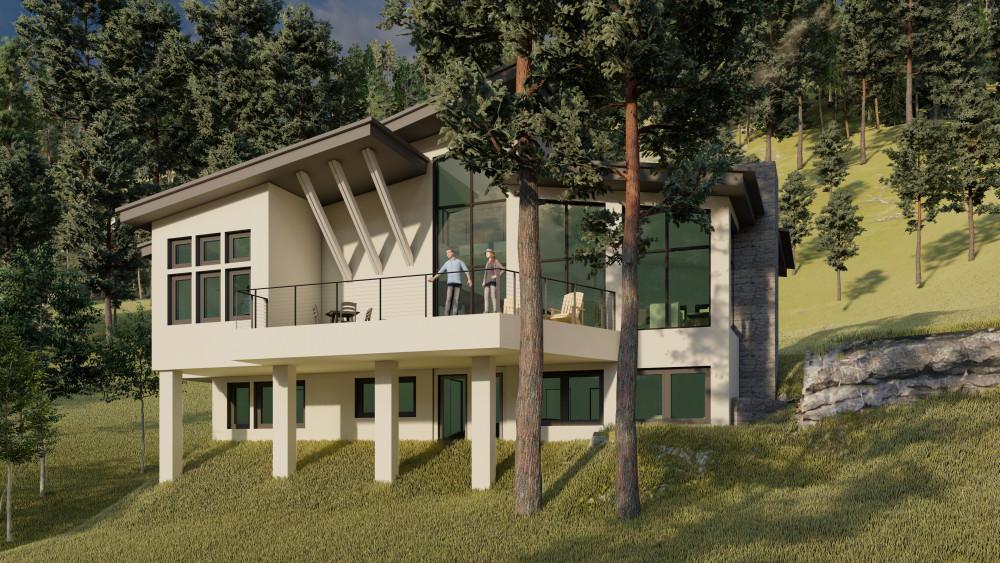 Big Sky Architect's Vision - Rustic Modern Lake Pend Orielle Cabin