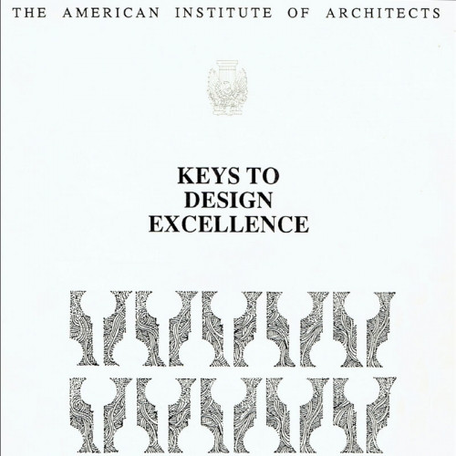 Keys to Design Excellence AIA Press 1989