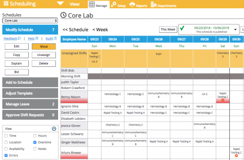 Healthcare Scheduling Management Software