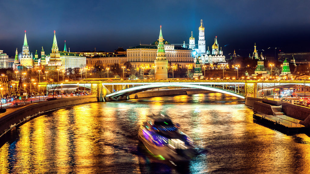 Nightlife in Moscow