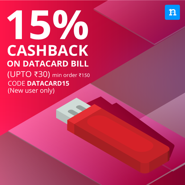 Datacard Recharge Offer