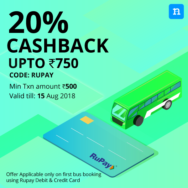 Rupay Bus Offer