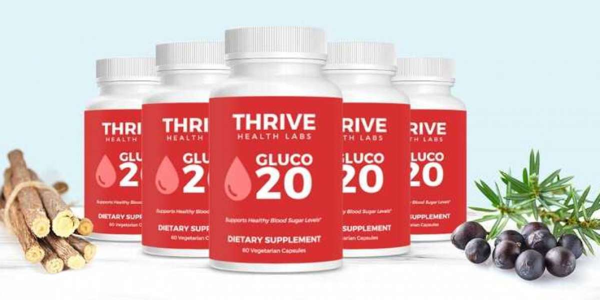 Gluco 20 |Gluco 20 Thrive Health Labs| Official Store!