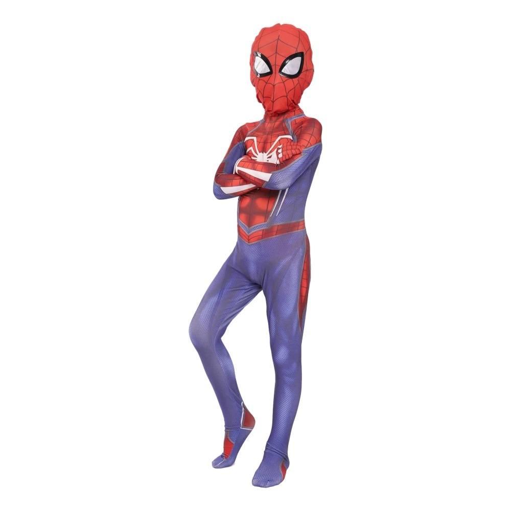 Cosplay Homem Aranha de PS4 Infantil