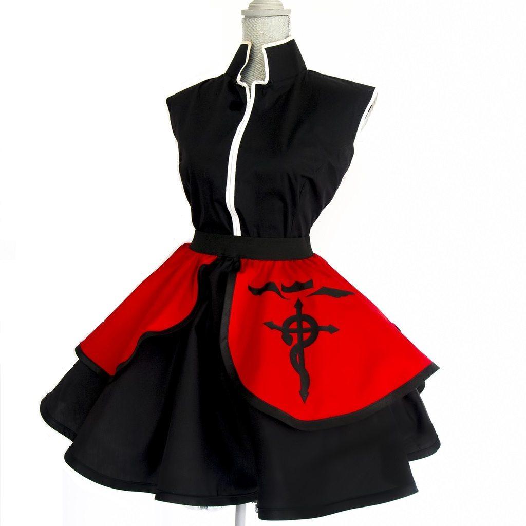 Cosplay Lolita Vestido Kimono Fullmetal Alchemist