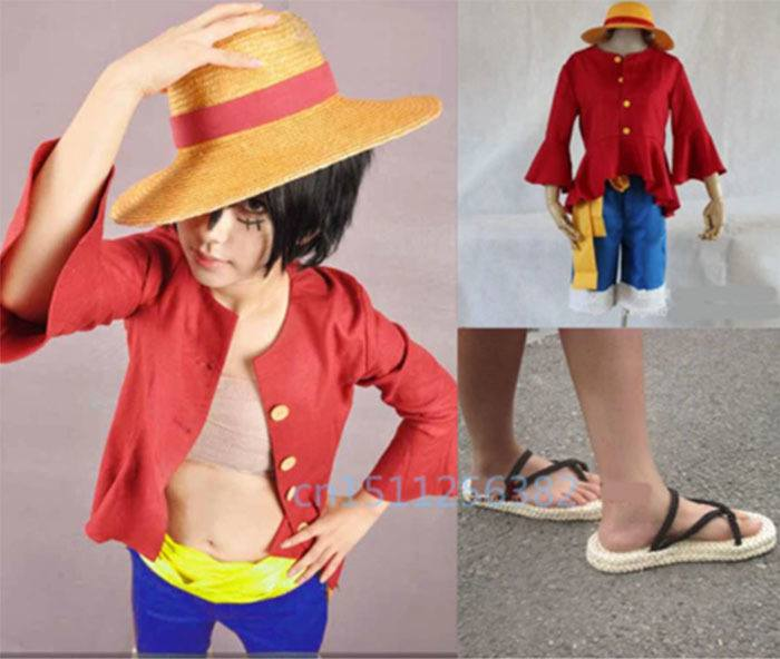COSPLAY LUFFY NOVO MUNDO ONE PIECE