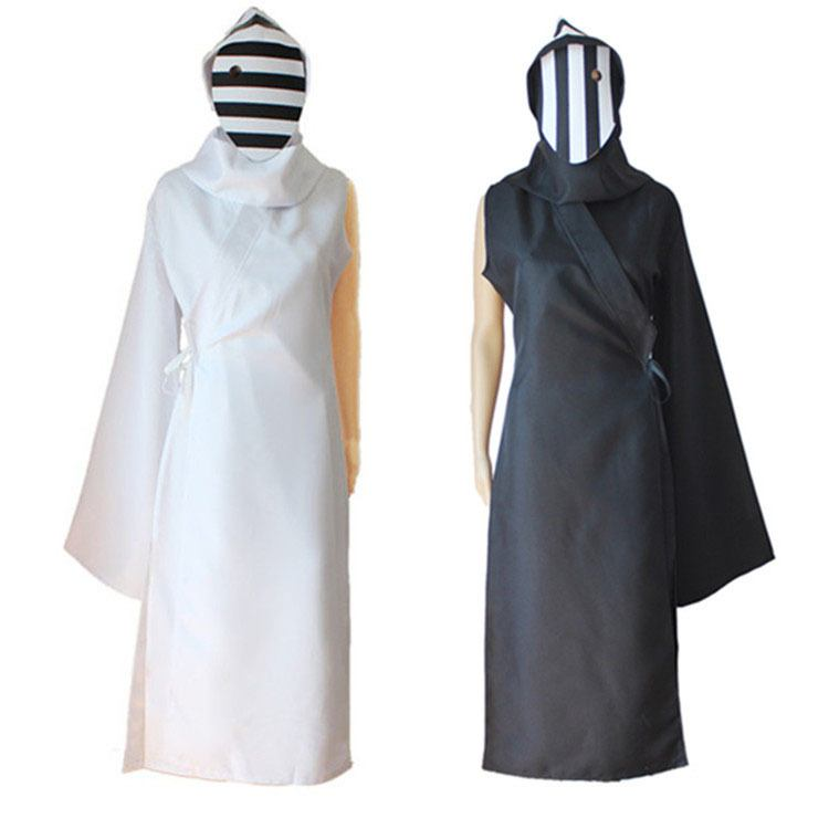 Cosplay Nashiro Kurona Yasuhisa 2 Cores Black & White Tokyo Ghoul