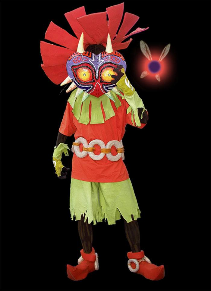 COSPLAY SKULL KID ZELDA