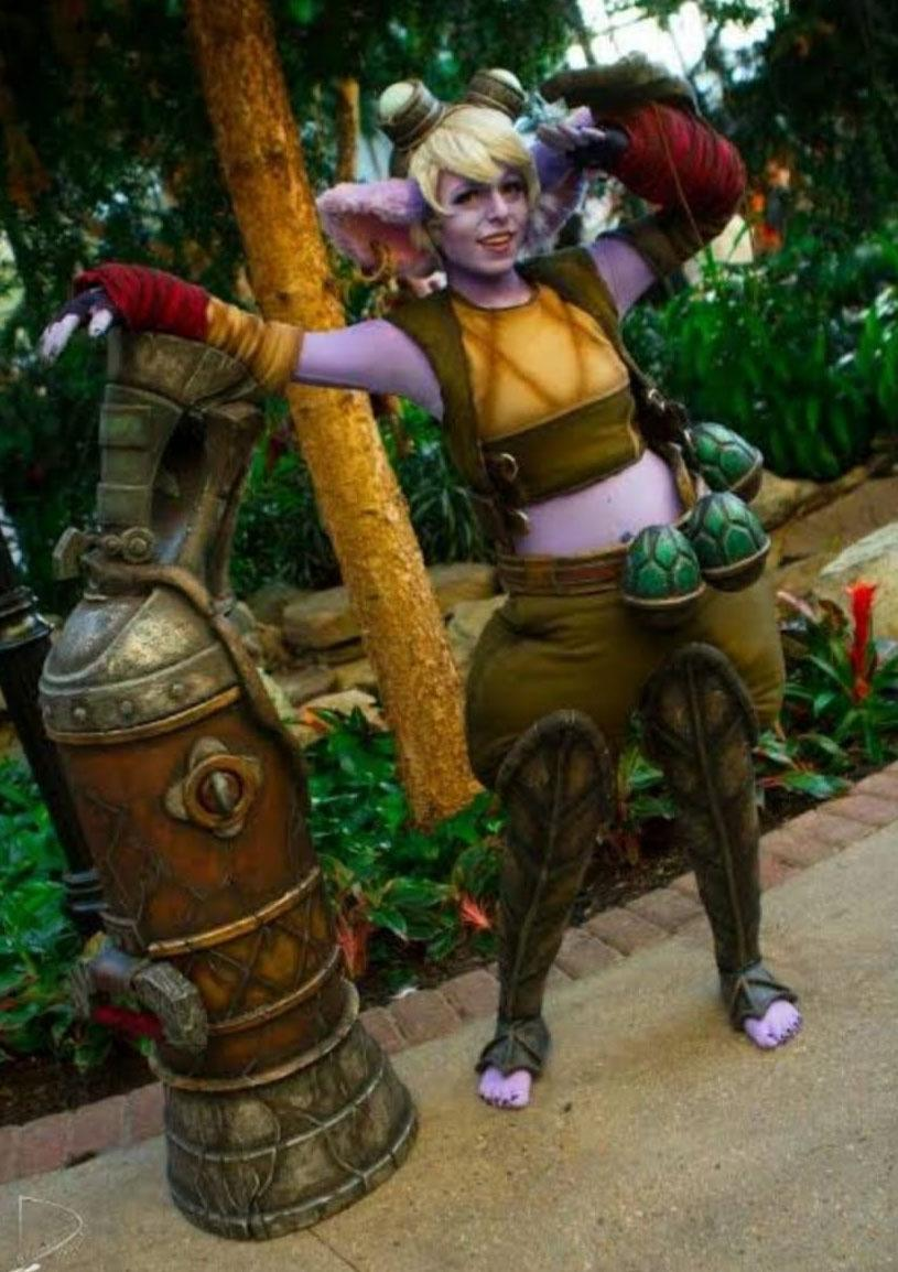 COSPLAY TRISTANA LOL LEAGUE OF LEGENDS