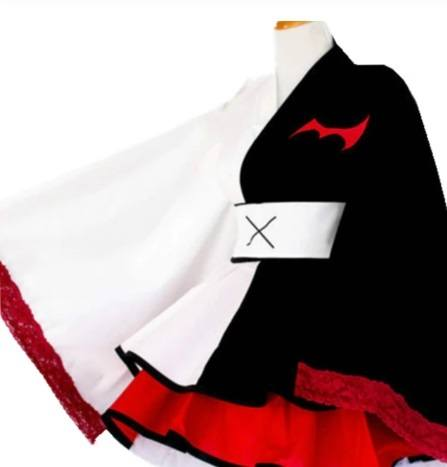 Cosplay Vestido Lolita Danganronpa Monokuma