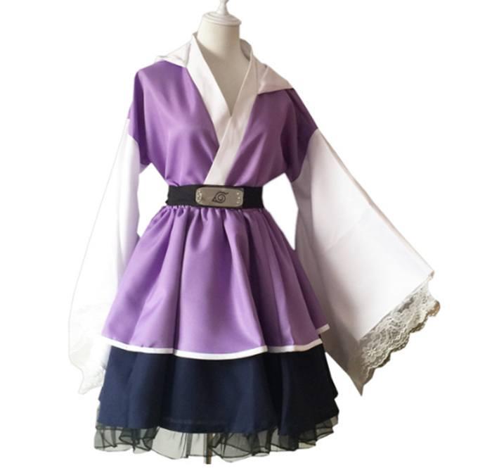 Cosplay Kimono Hyuga Hinata Lolita - Naruto Shippuden