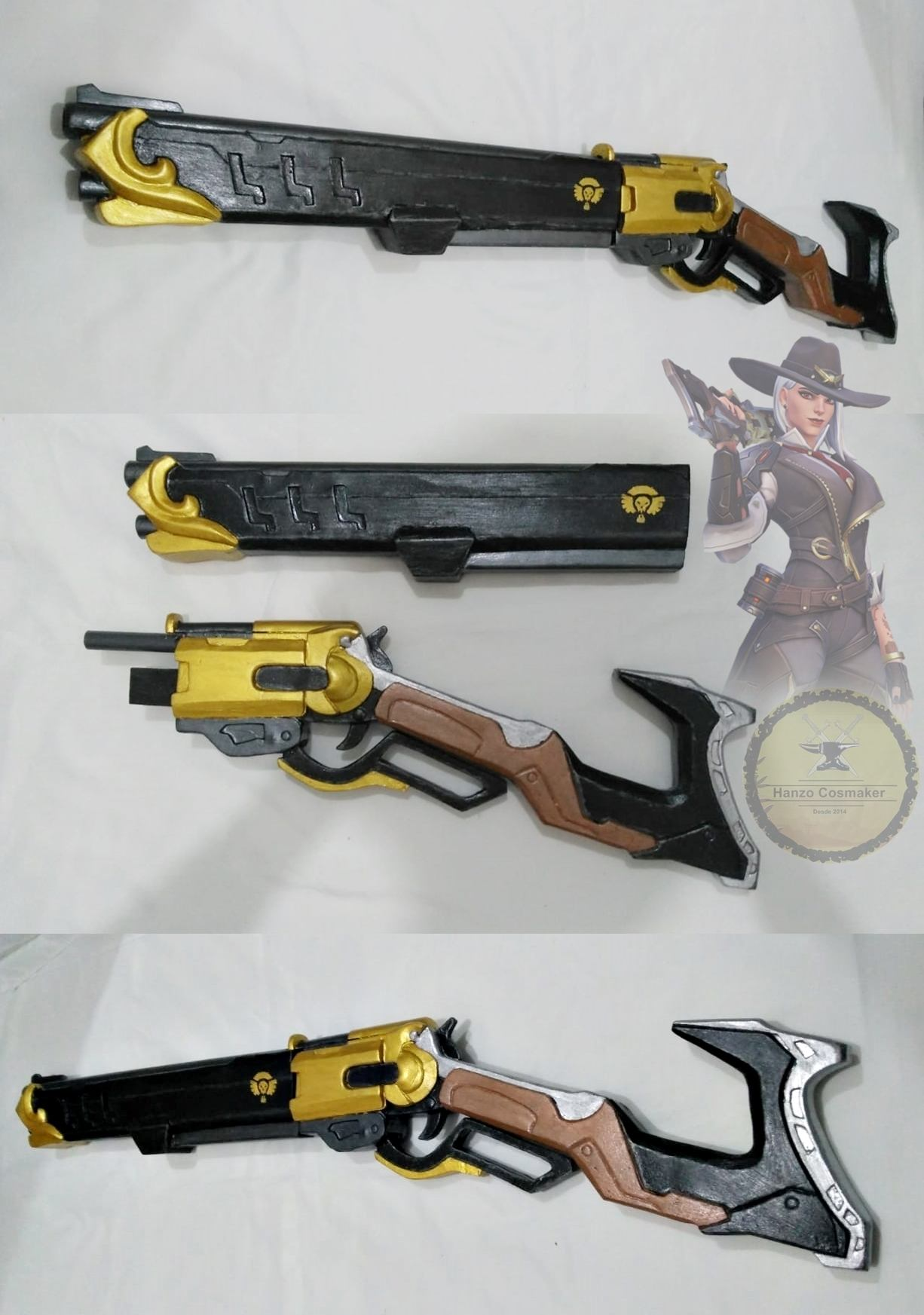 Rifle Ashe - Overwatch