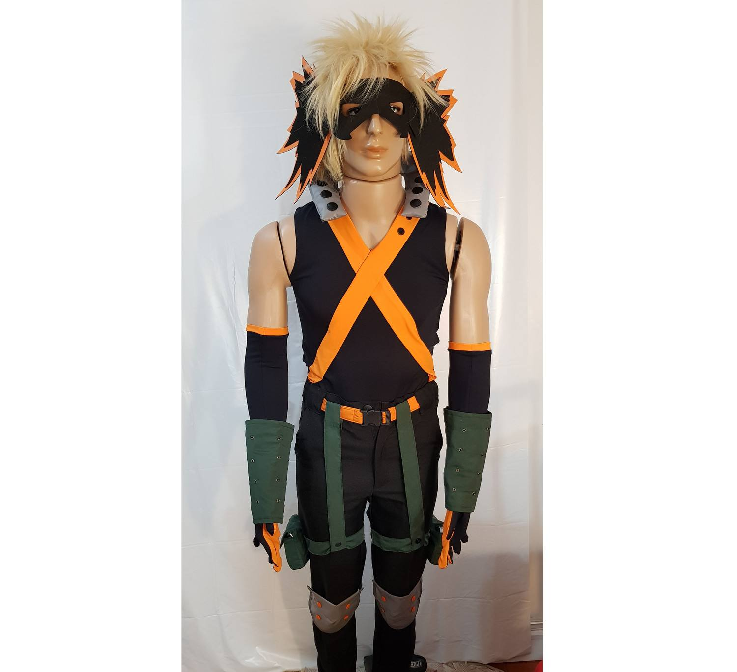 SET COSPLAY KATSUKI BAKUGOU BOKU NO HERO ACADEMIA