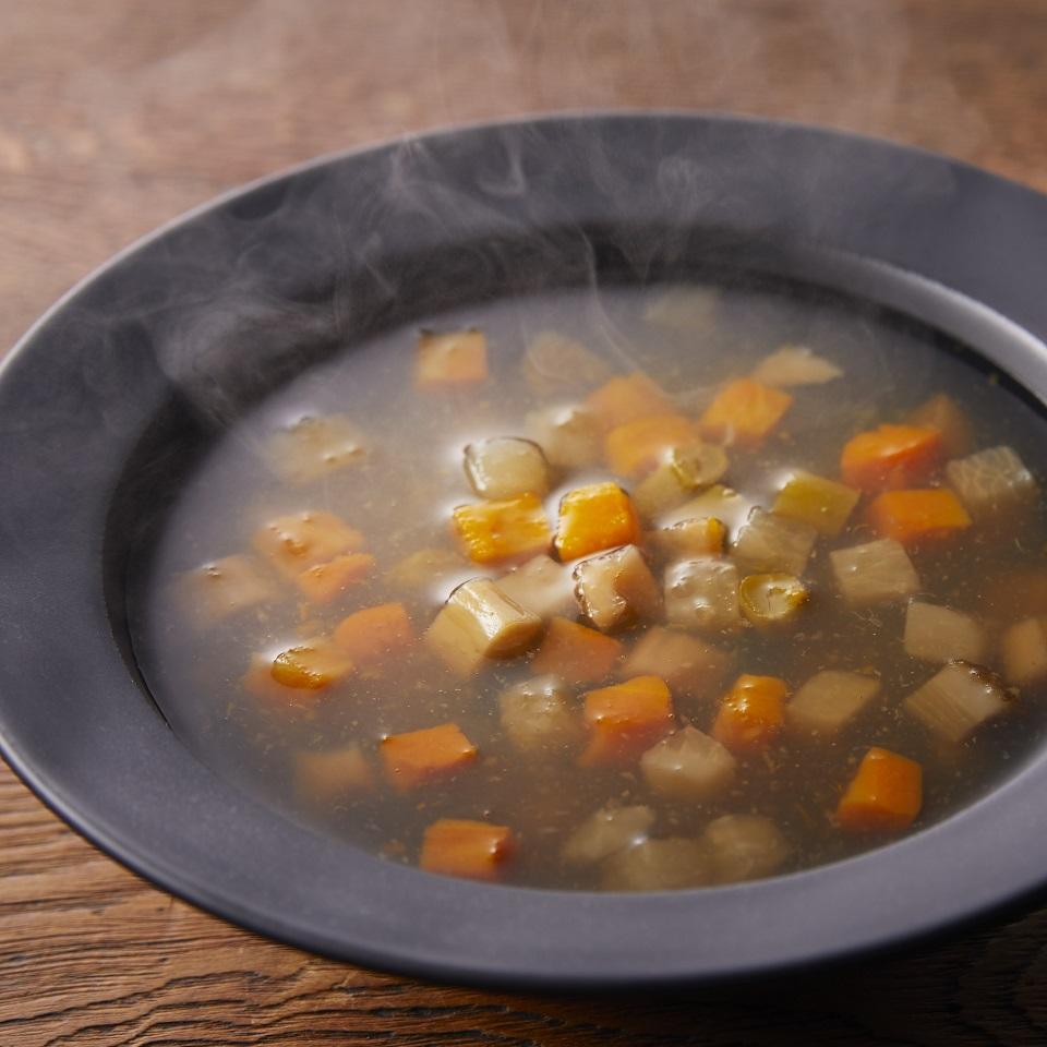 柚子香る野菜スープ