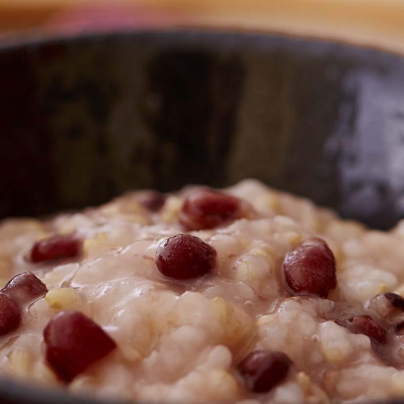 国産小豆玄米粥