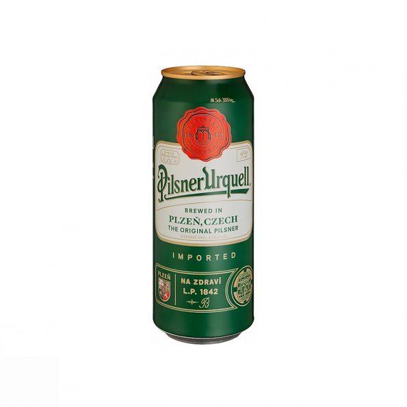 Pilsner Urquell Birrë Kanaçe 0.5L