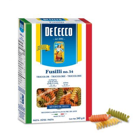 De Cecco Fusilli Tricolore 500 Gr