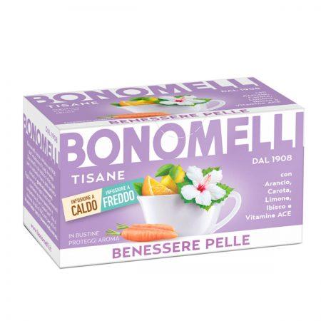 Bonomelli Çaj për Shëndetin e Lëkurës 16 Bustina