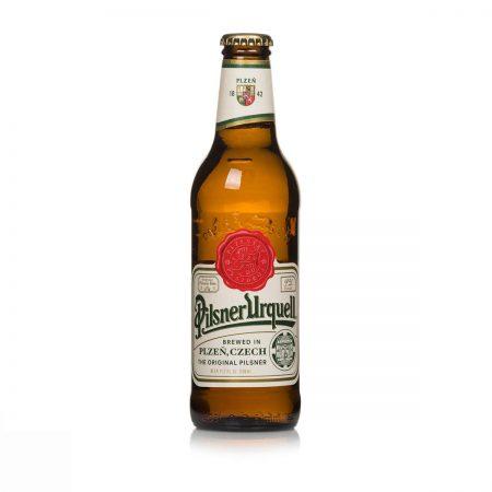 Pilsner Urquell Birrë Pilsner Shishe 0.33L
