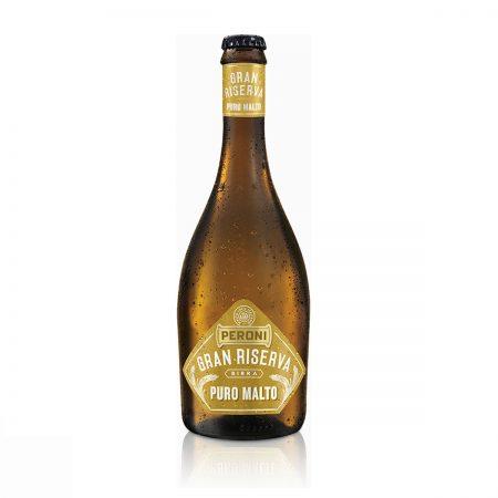 Peroni Gran Riserva Birrë Puro Malto Shishe 0.5L