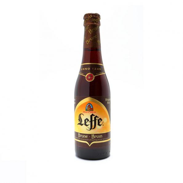 Leffe Birrë e Zezë Shishe 0.33L