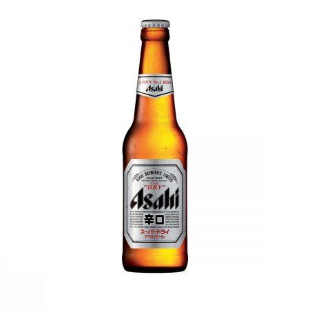 Asahi Super Dry Birrë Bjonde Shishe 0.33L