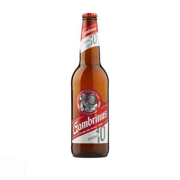 Gambrinus Original 10 Birrë Bjonde Shishe 0.5L
