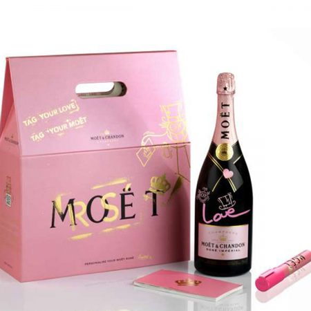 Moet & Chandon Rose Shampanje 1.5L në Kuti