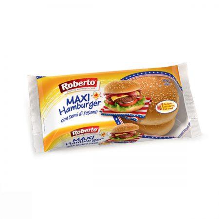 ROBERTO Pane MaxiHamburger Sesamo 300g