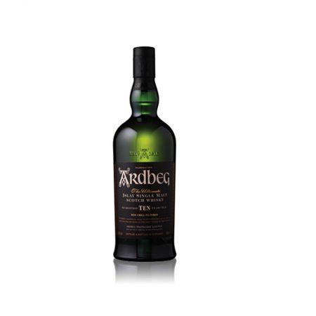 Ardbeg Scotch Whisky 10 Vjeçar 0.7L në Kuti