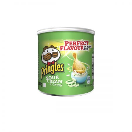 PRINGLES PATATINA SOUR CREAM & ONION 40 GR * 12 COPE (2)