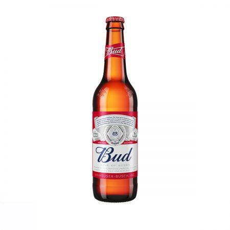 Bud Birre Bjonde Shishe 0.33L